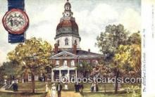 cap001853 - Annapolis, Maryland, MD State Capital, Capitals Postcard Post Card USA
