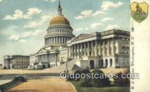 cap001878 - Washington DC State Capital, Capitals Postcard Post Card USA