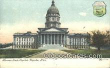 cap001881 - Topeka, Kansas, KS  State Capital, Capitals Postcard Post Card USA