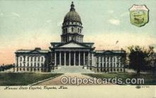 cap001884 - Topeka, Kansas, KS  State Capital, Capitals Postcard Post Card USA