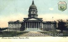 cap001885 - Topeka, Kansas, KS  State Capital, Capitals Postcard Post Card USA