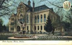 cap001890 - Boise, Idaho, ID  State Capital, Capitals Postcard Post Card USA