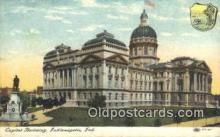cap001894 - Indianapolis, Indiana, IN State Capital, Capitals Postcard Post Card USA