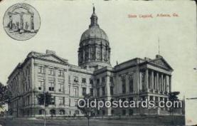 cap001896 - Atlanta, Georgia, GA State Capital, Capitals Postcard Post Card USA