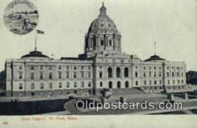 cap001898 - St Paul, Minnesota, MN  State Capital, Capitals Postcard Post Card USA