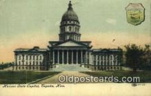 cap001901 - Topeka, Kansas, KS  State Capital, Capitals Postcard Post Card USA