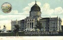 cap001902 - Helena, Montana, MT  State Capital, Capitals Postcard Post Card USA