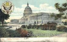 cap001903 - Washington DC State Capital, Capitals Postcard Post Card USA