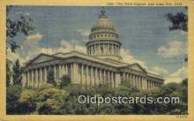 cap001917 - Salt Lake City, Utah, UT  State Capital, Capitals Postcard Post Card USA