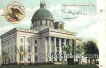 cap001922 - Montgomery, Alabama, AL  State Capital, Capitals Postcard Post Card USA