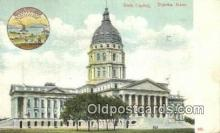 cap001924 - Topeka, Kansas, KS  State Capital, Capitals Postcard Post Card USA