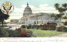 cap001928 - Washington DC State Capital, Capitals Postcard Post Card USA