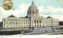 cap001931 - St Paul, Minnesota, MN  State Capital, Capitals Postcard Post Card USA