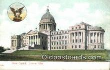 cap001932 - Jackson, Mississippi, MS State Capital, Capitals Postcard Post Card USA