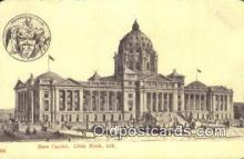 cap001936 - Little Rock, Arkansas, AR State Capital, Capitals Postcard Post Card USA