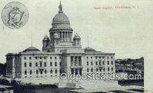 cap001937 - Providence, Rhode Island, RI State Capital, Capitals Postcard Post Card USA