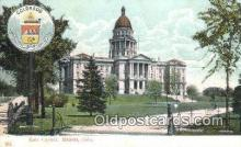 cap001938 - Denver, Colorado, CO State Capital, Capitals Postcard Post Card USA