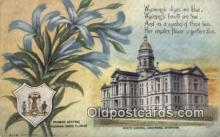 cap001942 - Cheyenne, Wyoming, WY  State Capital, Capitals Postcard Post Card USA
