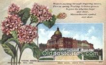 cap001956 - Boston, Massachusetts, MA State Capital, Capitals Postcard Post Card USA