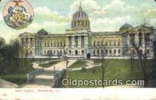 cap001961 - Harrisburg, Pennsylvania, PA  State Capital, Capitals Postcard Post Card USA