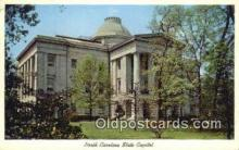 cap001962 - Raleigh, North Carolina, NC  State Capital, Capitals Postcard Post Card USA