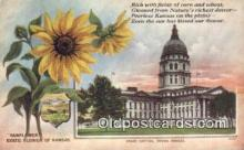 cap001964 - Topeka, Kansas, KS  State Capital, Capitals Postcard Post Card USA