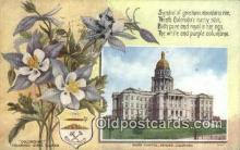 cap001966 - Denver, Colorado, CO State Capital, Capitals Postcard Post Card USA