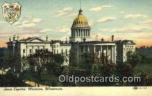 cap001985 - Madison, Wisconsin, WI State Capital, Capitals Postcard Post Card USA