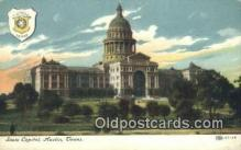 cap001996 - Austin, Texas, TX State Capital, Capitals Postcard Post Card USA