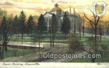 cap002001 - Augusta, Maine, ME State Capital, Capitals Postcard Post Card USA
