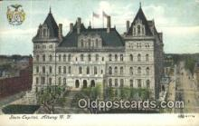 cap002011 - Albany, New York, NY  State Capital, Capitals Postcard Post Card USA