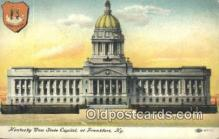 cap002014 - Frankfort, Kentucky, KY State Capital, Capitals Postcard Post Card USA
