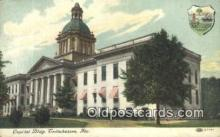 cap002016 - Tallahassee, Florida, FL State Capital, Capitals Postcard Post Card USA