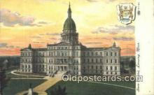 cap002018 - Lansing, Michigan, MI  State Capital, Capitals Postcard Post Card USA