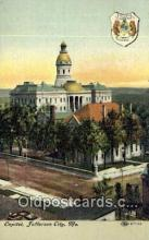cap002020 - Jefferson City, Missouri , MO State Capital, Capitals Postcard Post Card USA