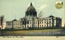 cap002026 - St Paul, Minnesota, MN  State Capital, Capitals Postcard Post Card USA