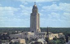 cap002037 - Lincoln, Nebraska, NE  State Capital, Capitals Postcard Post Card USA