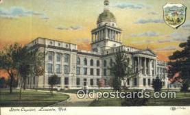 cap002039 - Lincoln, Nebraska, NE  State Capital, Capitals Postcard Post Card USA