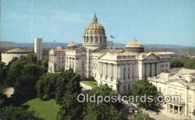 cap002040 - Harrisburg, Pennsylvania, PA  State Capital, Capitals Postcard Post Card USA