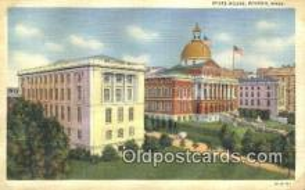 cap002048 - Boston, Massachusetts, MA State Capital, Capitals Postcard Post Card USA