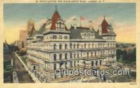 cap002050 - Albany, New York, NY  State Capital, Capitals Postcard Post Card USA