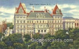 cap002051 - Albany, New York, NY  State Capital, Capitals Postcard Post Card USA