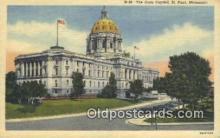 cap002052 - St Paul, Minnesota, MN  State Capital, Capitals Postcard Post Card USA