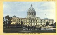 cap002054 - St Paul, Minnesota, MN  State Capital, Capitals Postcard Post Card USA
