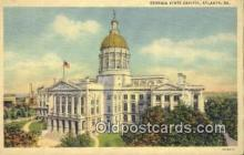 cap002058 - Atlanta, Georgia, GA State Capital, Capitals Postcard Post Card USA