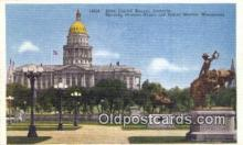cap002060 - Denver, Colorado, CO State Capital, Capitals Postcard Post Card USA