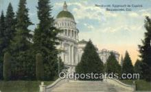 cap002065 - Sacramento, California, CA  State Capital, Capitals Postcard Post Card USA