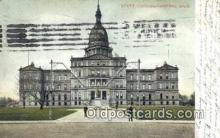 cap002067 - Lansing, Michigan, MI  State Capital, Capitals Postcard Post Card USA