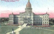 cap002068 - Lansing, Michigan, MI  State Capital, Capitals Postcard Post Card USA