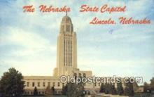cap002070 - Lincoln, Nebraska, NE  State Capital, Capitals Postcard Post Card USA